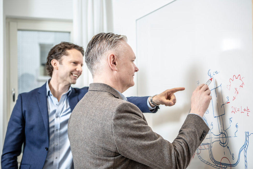 Jönrup & Eriksson genomgång whiteboard