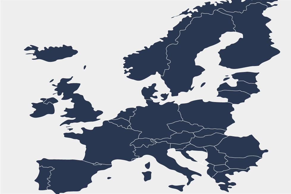 Europakarta för patentinvändningar